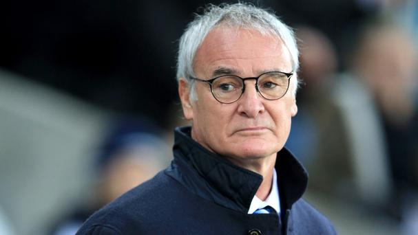 Leicester manager Claudio Ranieri is remaining calm despite a first defeat in three months