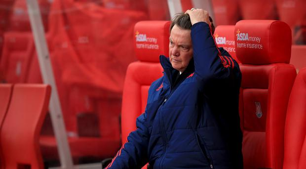 Louis van Gaal is under pressure after a run of seven games without a win