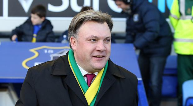Norwich have unveiled Ed Balls as their new chairman
