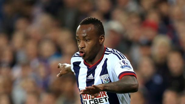 West Brom's Saido Berahino has scored just three times this season