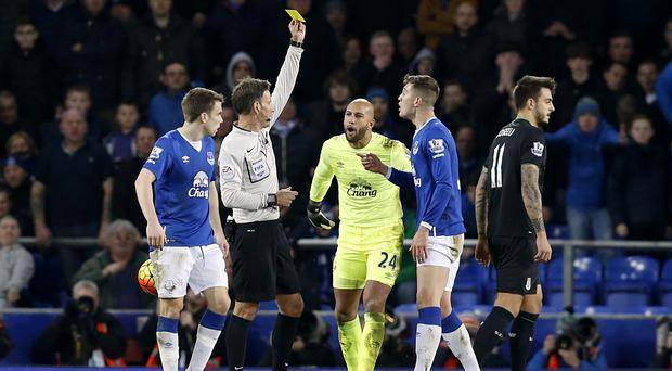 Mark Clattenburg came under fire after his late penalty decision