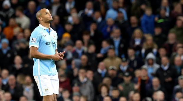 Vincent Kompany will be out for at least another three to four weeks