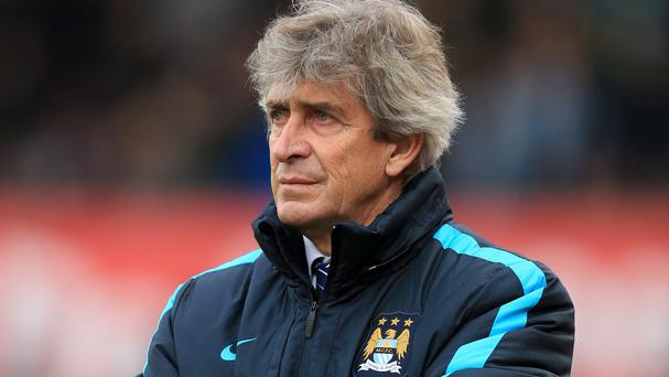 Manuel Pellegrini's Manchester City side are without an away win in the Barclays Premier League in six outings