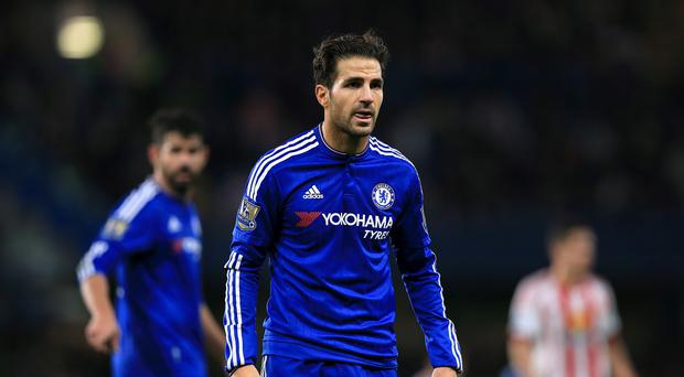 Francesc Fabregas, pictured, will not be leaving Chelsea in the transfer window, Guus Hiddink has stated