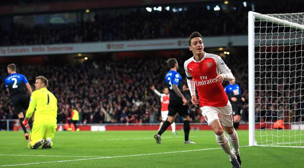 Mesut Ozil has helped Arsenal to the Premier League summit, but can they stay there?