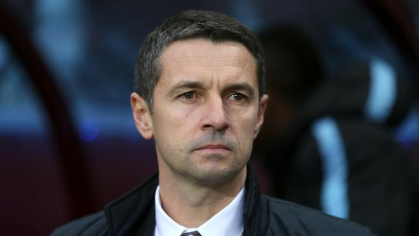 Remi Garde insists he will stay at Aston Villa even if they are relegated