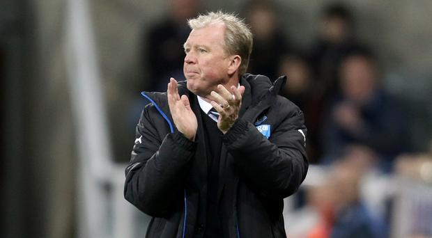 Newcastle head coach Steve McClaren admits he is frustrated by the club's plight