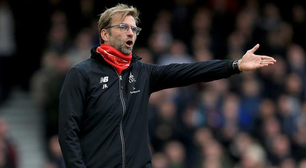 Liverpool had to face an 'angry' Jurgen Klopp at Upton Park