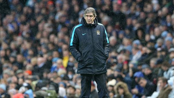 Manchester City manager Manuel Pellegrini watched his team recover to win 2-1 at Watford