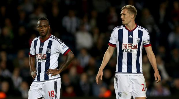 Darren Fletcher, right, has urged Saido Berahino to concentrate on his football