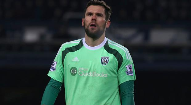 Ben Foster has not played for West Brom since injuring his knee last March