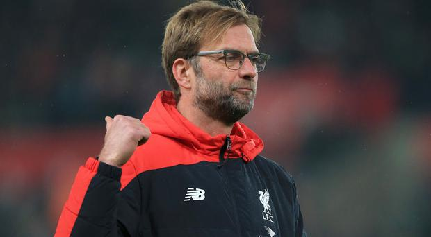 Liverpool manager Jurgen Klopp, pictured, has hit back at criticism by Sam Allardyce