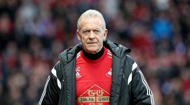 Swansea caretaker manager Alan Curtis has been put in charge for the rest of the season