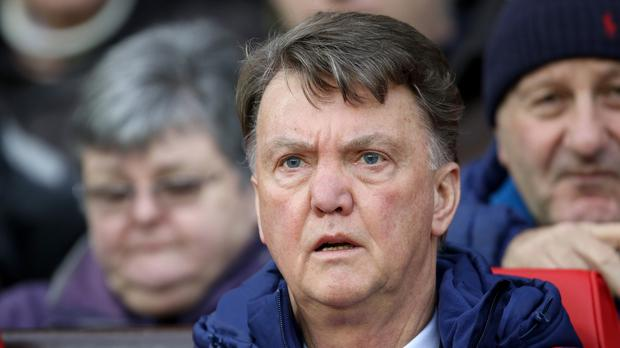 Louis van Gaal is enduring a difficult season in the Manchester United hotseat