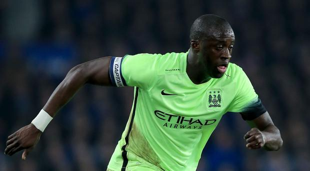 Yaya Toure's performances have been defended by his Manchester City manager Manuel Pellegrini