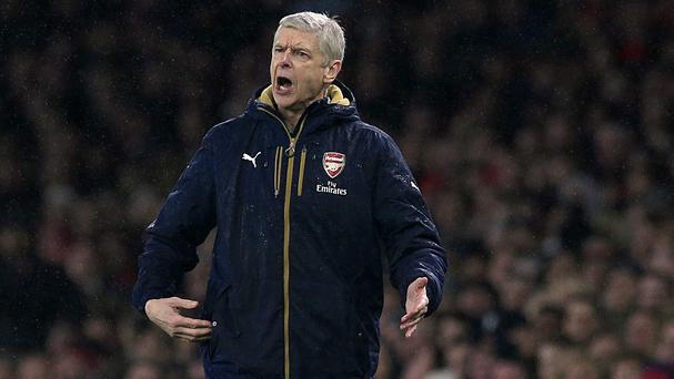 Arsenal manager Arsene Wenger takes his Barclays Premier League leaders to Liverpool on Wednesday