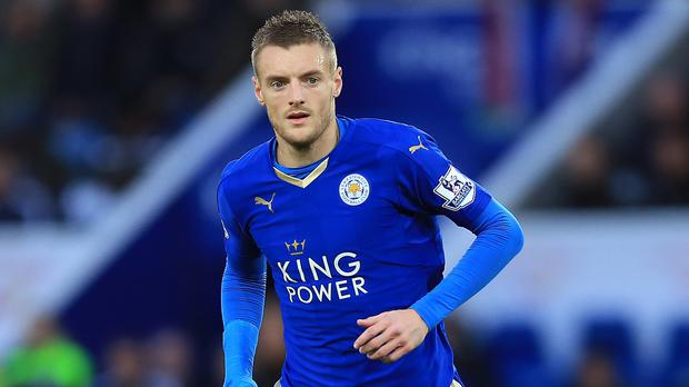 Leicester's Jamie Vardy is expected to return following a groin operation at Tottenham