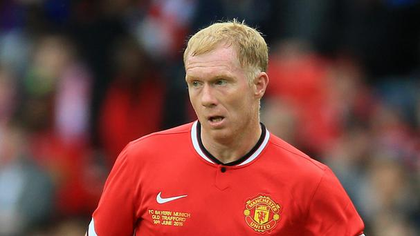 Paul Scholes was much more pleased by Manchester United's performance at Newcastle