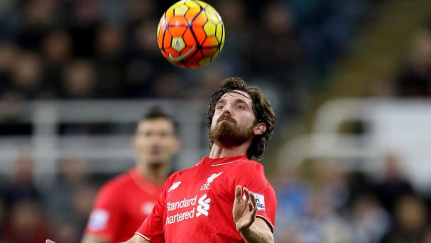 Joe Allen grabbed a late equaliser for Liverpool against joint leaders Arsenal
