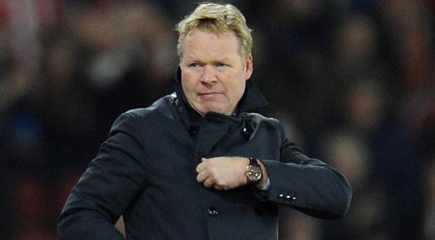 Ronald Koeman's side dominated and deserved far more than the 2-0 score-line suggested: PA News