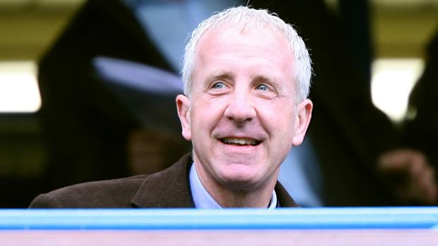 Aston Villa owner Randy Lerner is sticking by Paddy Riley CREDIT: PA