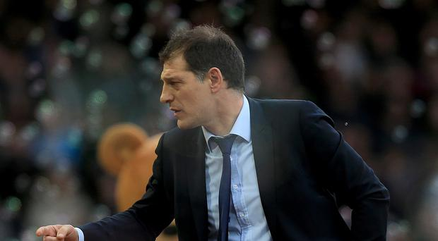 Slaven Bilic has guided West Ham to within a point of the Champions League places