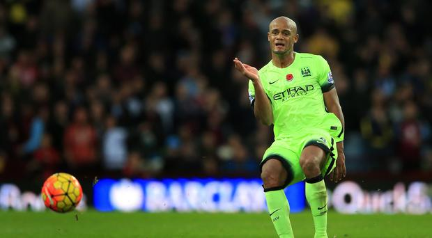 Vincent Kompany has struggled with persistent calf problems this season