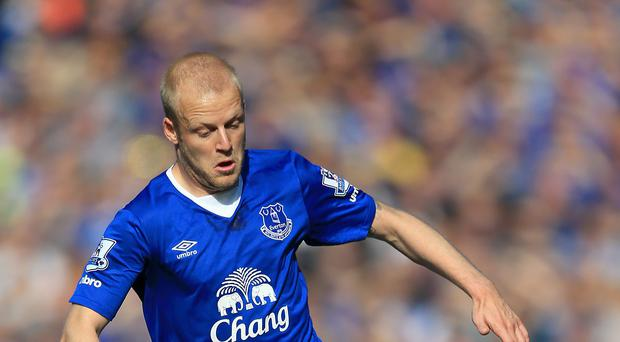 Everton forward Steven Naismith has a decision to make over his future in the next fortnight.