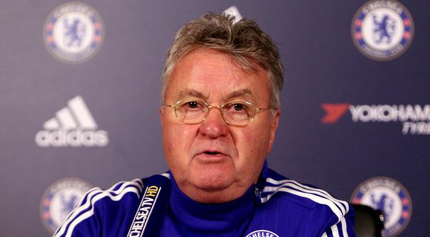 Guus Hiddink's, pictured, Chelsea are unbeaten in six games since Jose Mourinho left
