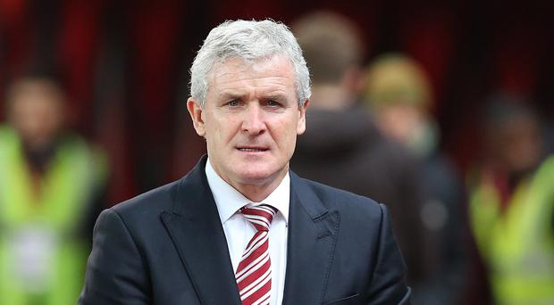 Mark Hughes' Stoke are in the top-four mix with four months of the season remaining
