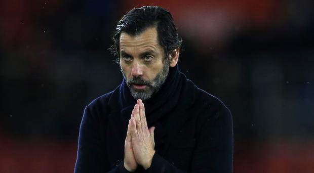 Quique Sanchez Flores is staying positive after a tricky run