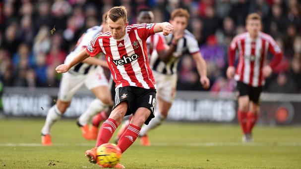 James Ward-Prowse tripled his Premeir League tally for Southampton