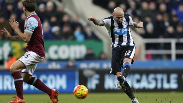 Jonjo Shelvey was impressive in midfield for his new club