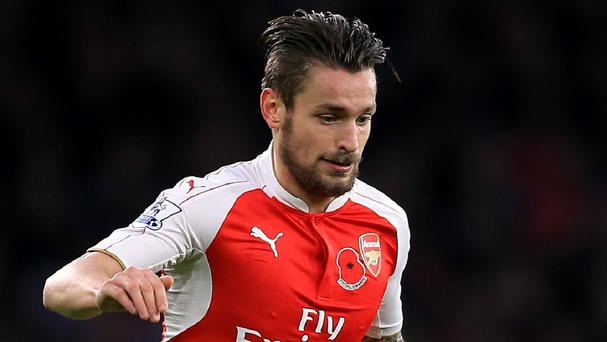 Mathieu Debuchy has found playing time restricted at Arsenal