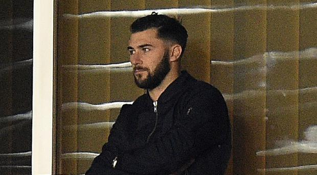 New signing Charlie Austin watched Southampton from the stands on Saturday