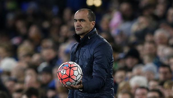 Everton manager Roberto Martinez refused to accept the last-gasp draw at Chelsea