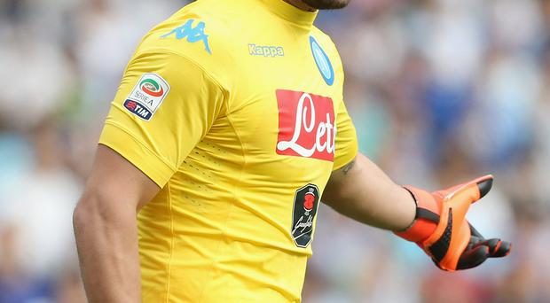 Pepe Reina played his 50th Serie A match on Saturday