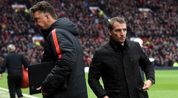 Brendan Rodgers has warned Manchester United manager Louis van Gaal that he has to win with style