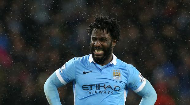 Wilfried Bony has made only 11 Barclays Premier League starts for Manchester City since joining them a year ago.