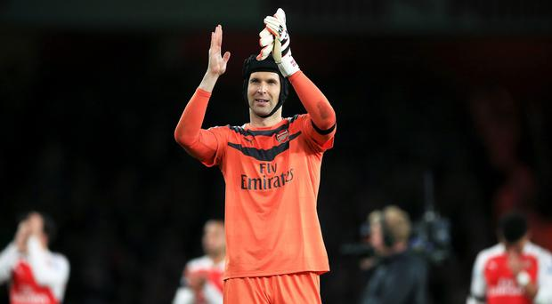 Petr Cech's new adidas gloves were delivered to Chelsea's training ground by mistake