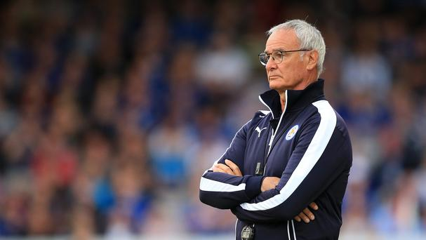 Leicester manager Claudio Ranieri is readying his players for one last big push towards the title