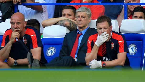 Arsenal manager Arsene Wenger saw his side lose at Chelsea back in September