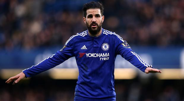 A Chelsea steward has been fired for labelling Cesc Fabregas, pictured, a