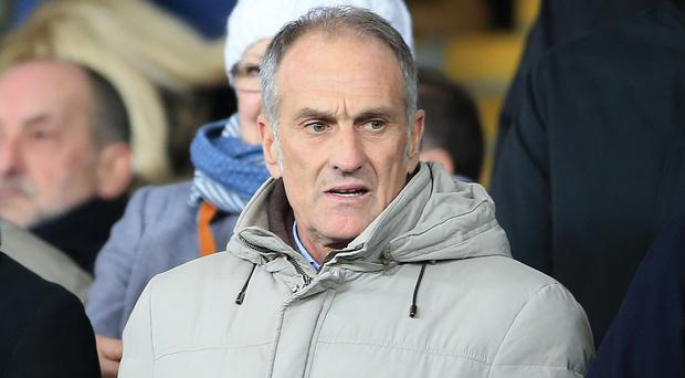 Francesco Guidolin will take charge of Swansea for the first time against Everton