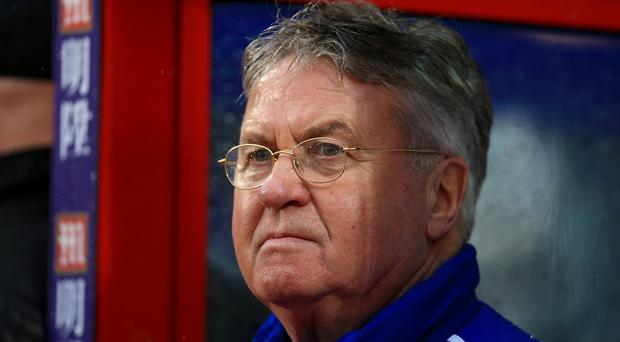 Guus Hiddink hopes Chelsea can keep up their impressive form against Arsenal