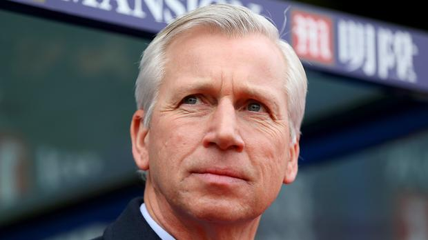 Crystal Palace manager Alan Pardew was impressed by Tottenham