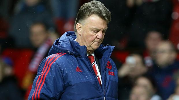 The pressure mounted on Louis van Gaal after another dull Manchester United performance ending in defeat