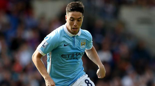 Samir Nasri has missed most of the season with a freak injury suffered in October