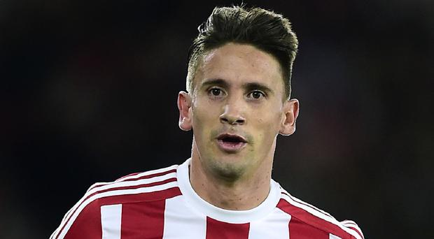 Southampton's Gaston Ramirez has moved down to the Sky Bet Championship with Middlesbrough.