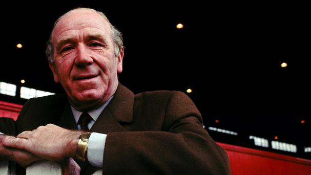 Sir Matt Busby stepped down as Manchester United manager in 1969 after 24 years in the job and with eight major trophies to his name